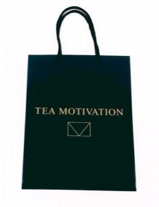 TEA MOTIVATION(ティーモチベーション)オリジナルショッピングバッグ